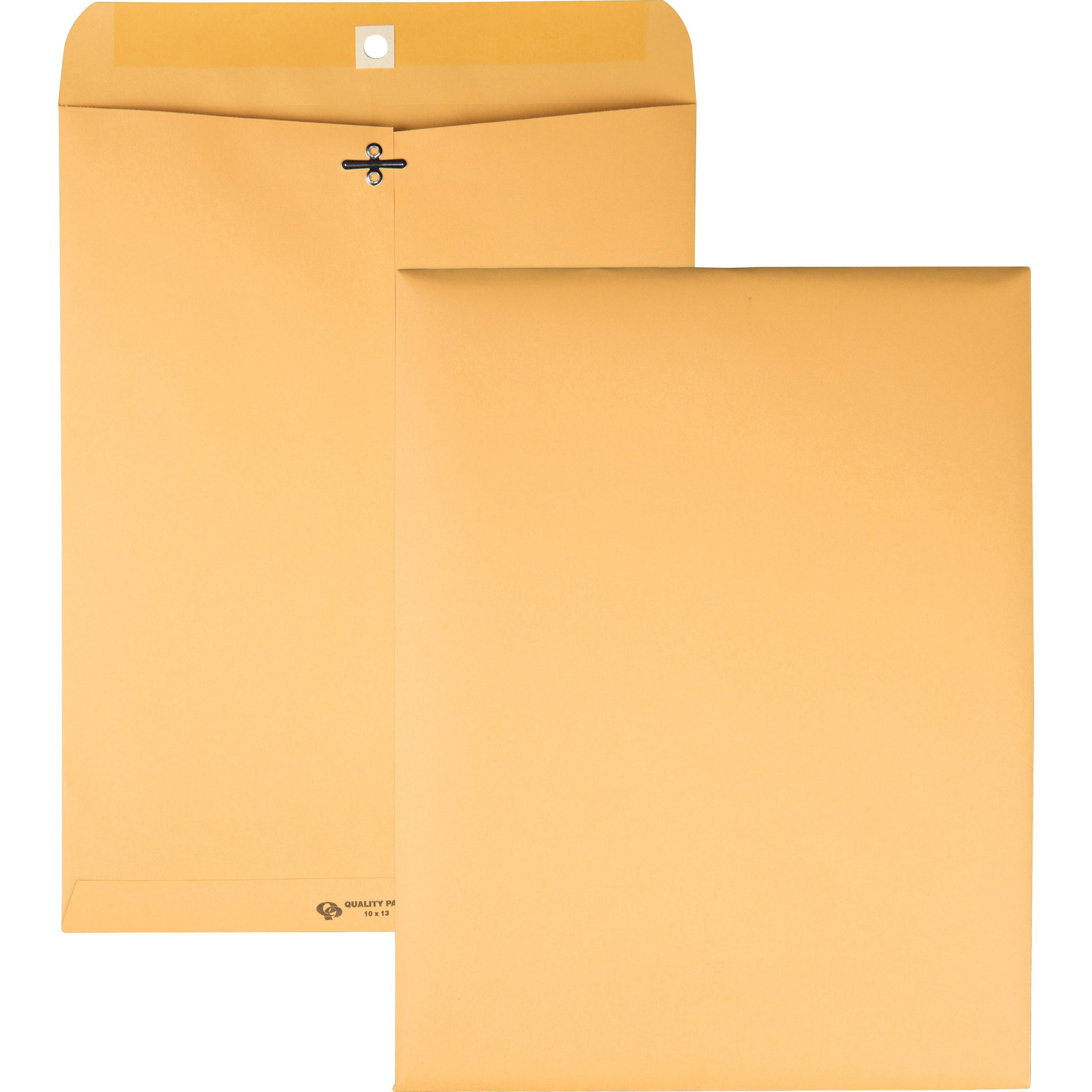 Clasp Envelope, 10 x 13, 32lb, Light Brown, 100/Box