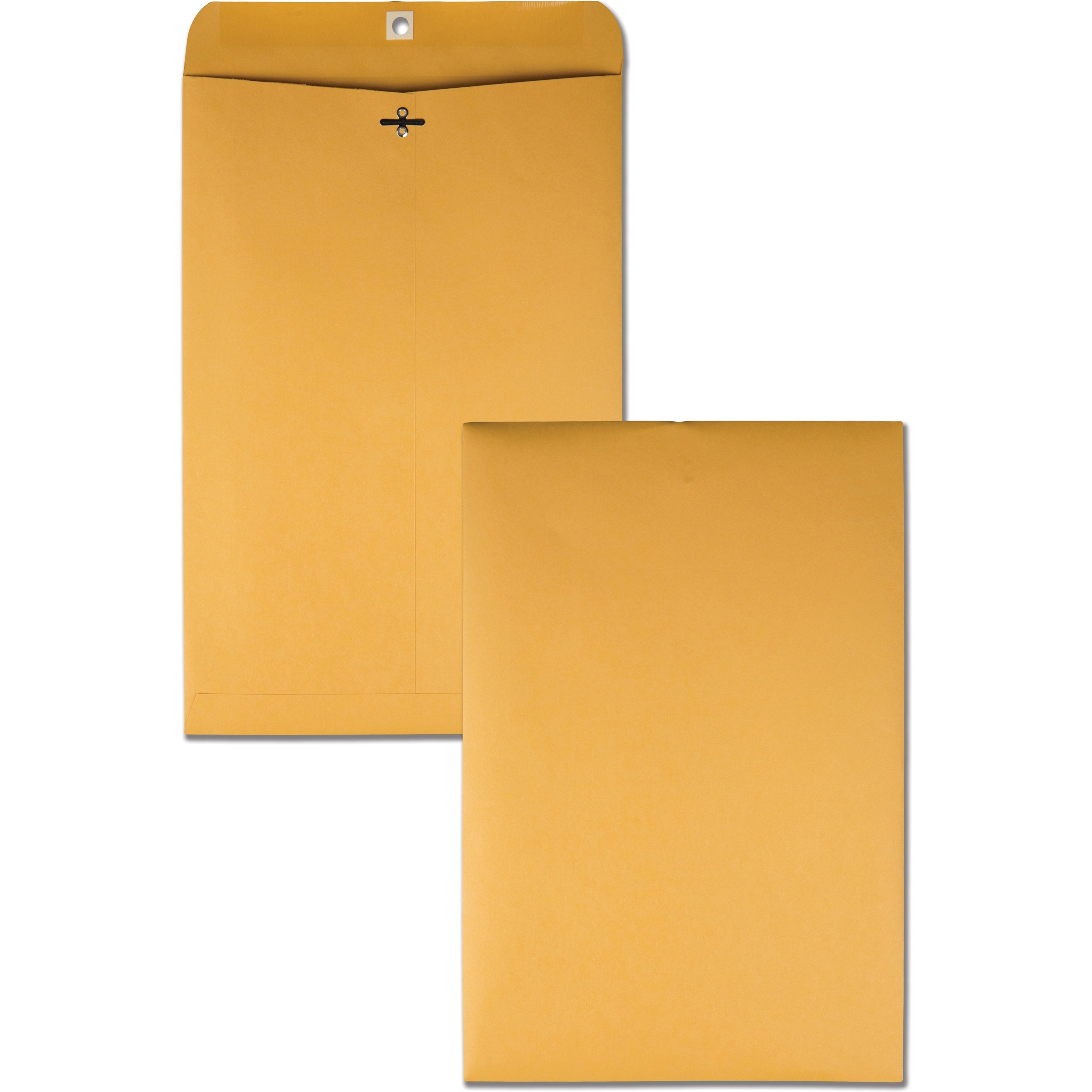 Clasp Envelope, 10 x 15, 32lb, Brown Kraft, 100/Box