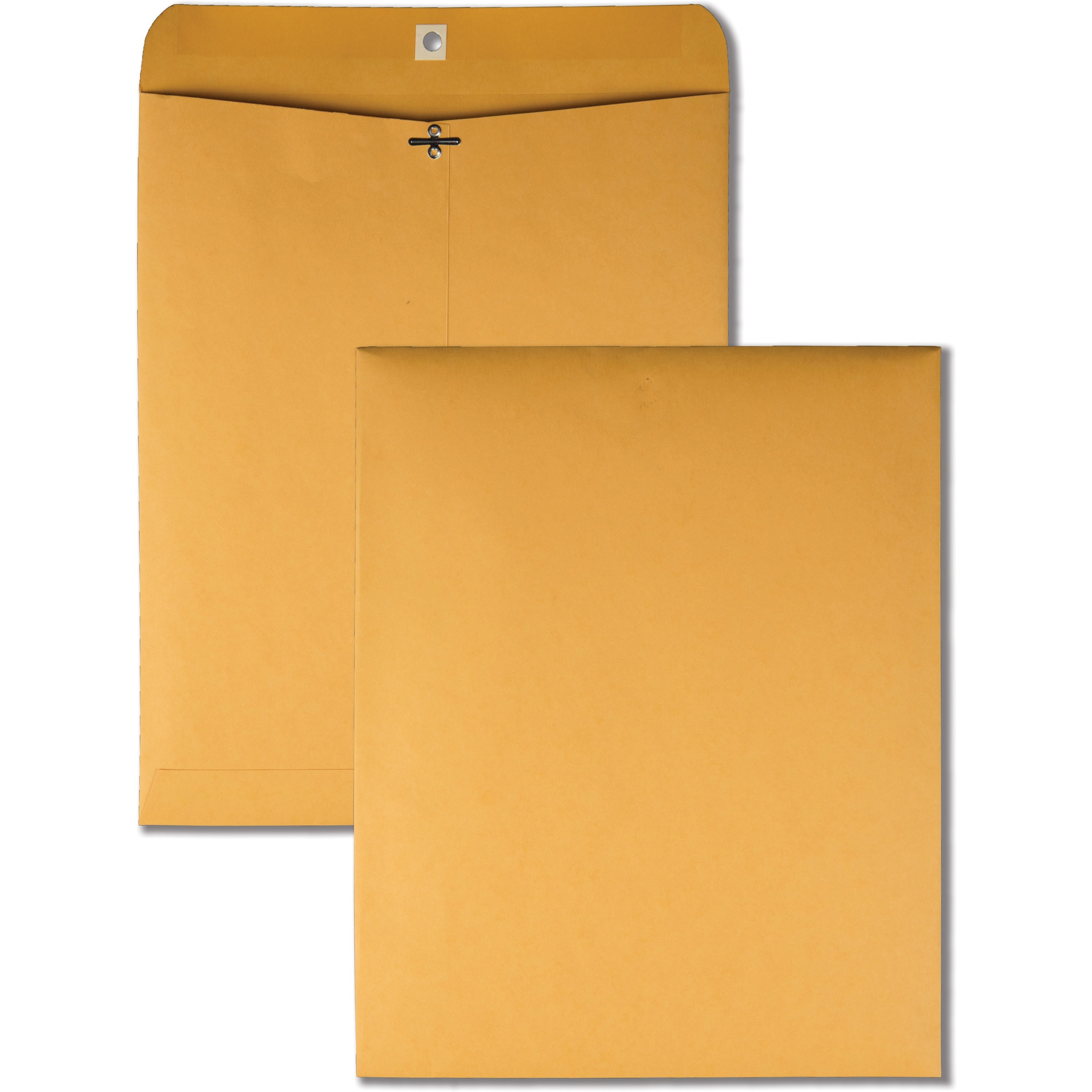 Clasp Envelope, 11 1/2 x 14 1/2, 32lb, Brown Kraft, 100/Box