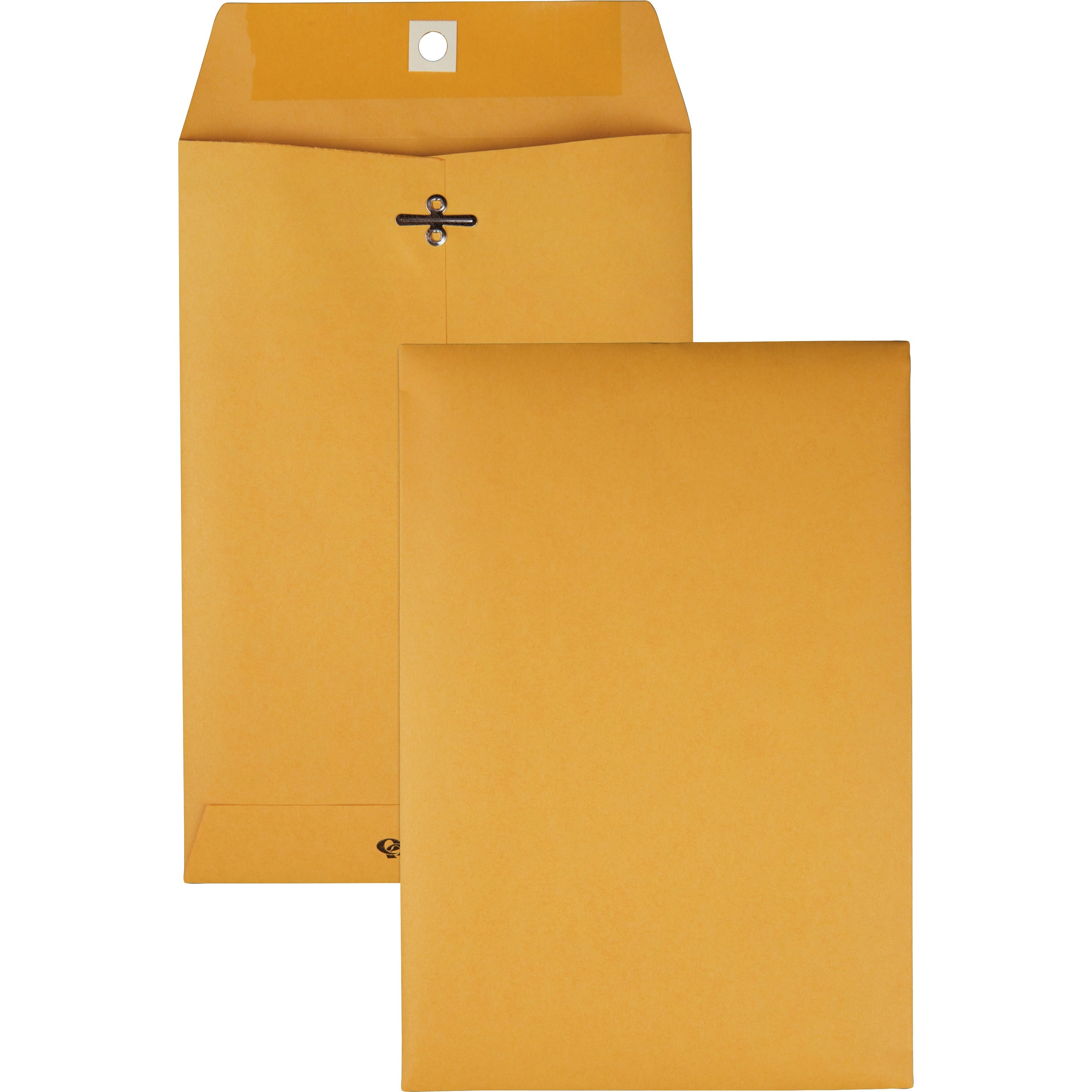 Clasp Envelope, 6 1/2 x 9 1/2, 28lb, Brown Kraft, 100/Box