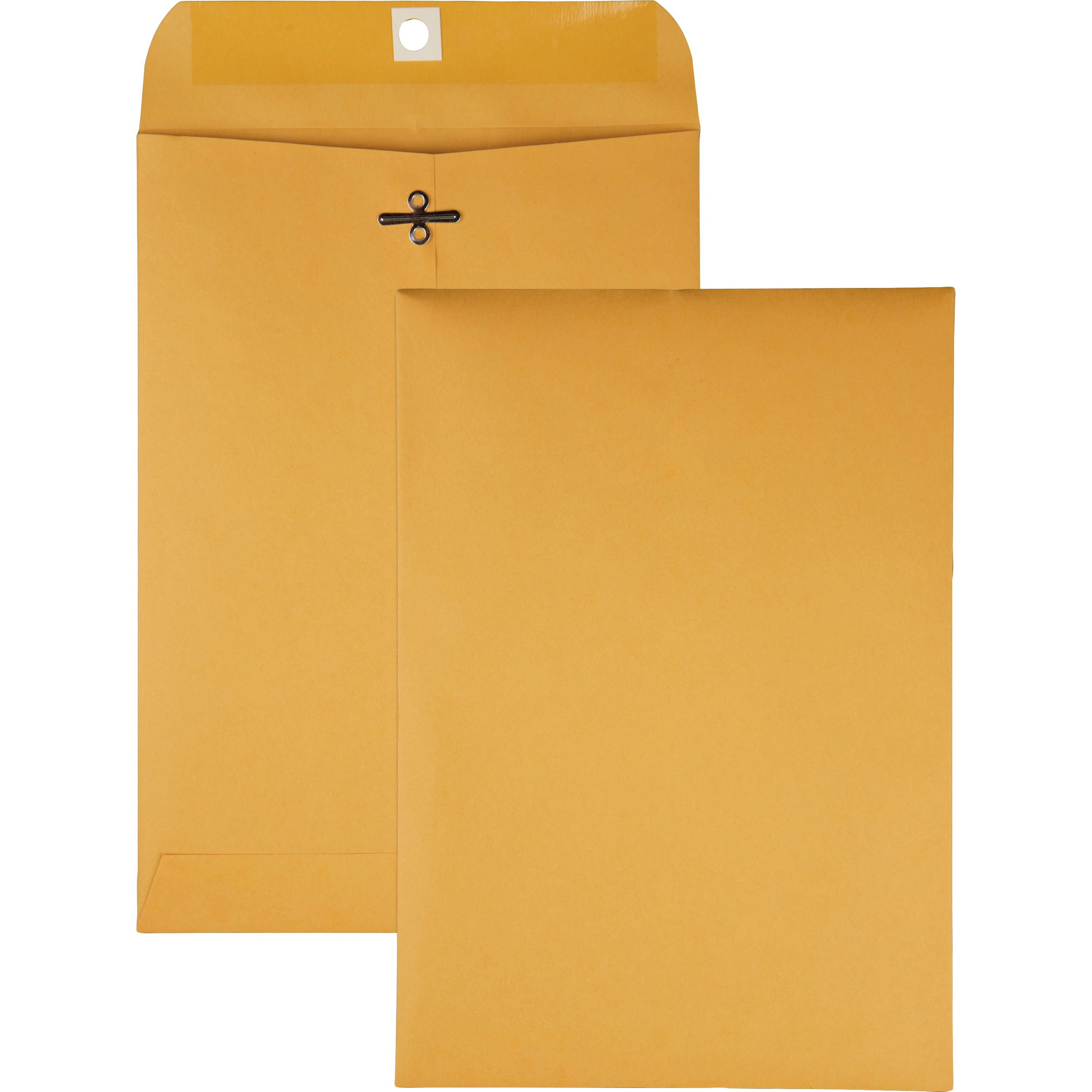 Clasp Envelope, 7 x 10, 28lb, Brown Kraft, 100/Box