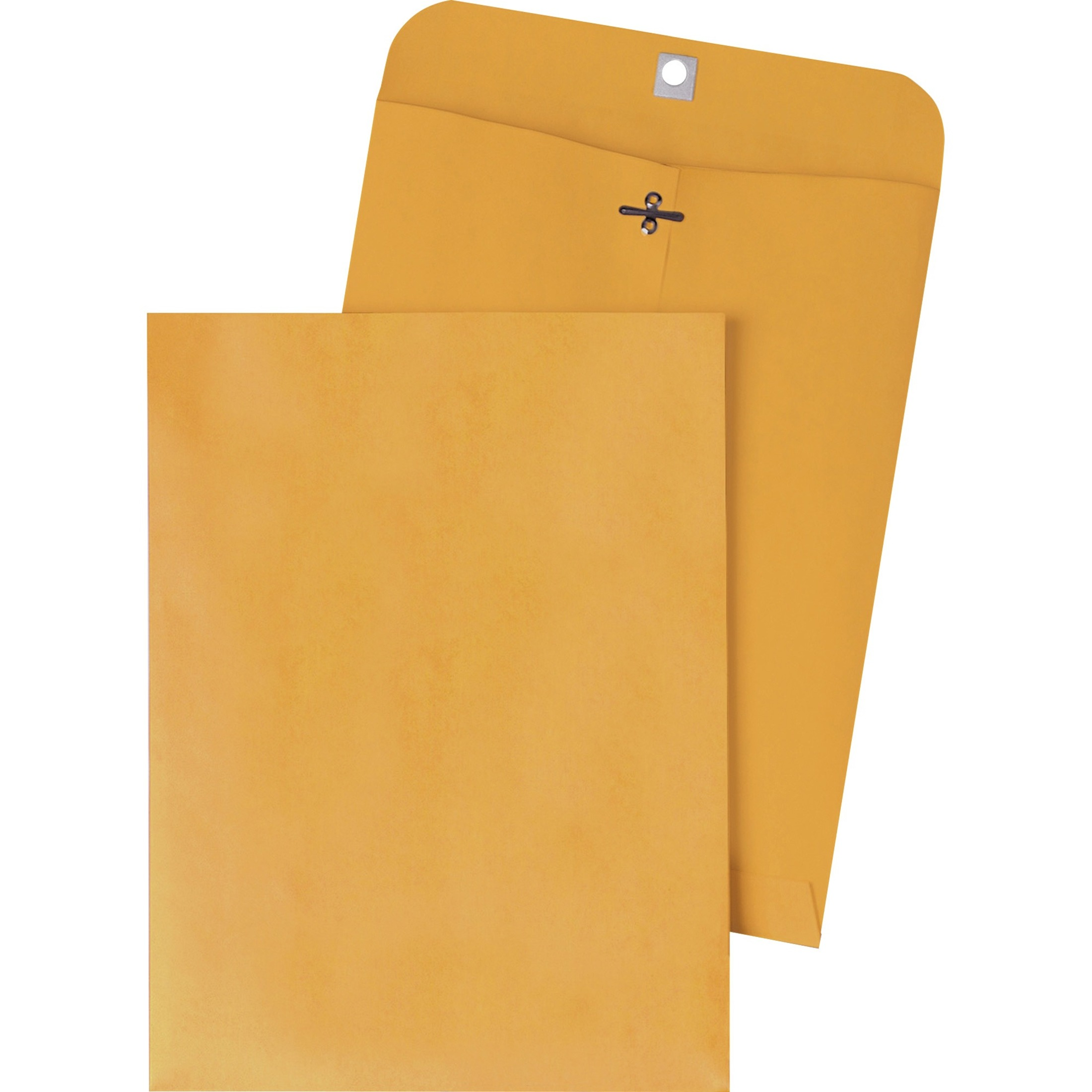 Clasp Envelope, 9 1/4 x 14 1/2, 28lb, Brown Kraft, 100/Box