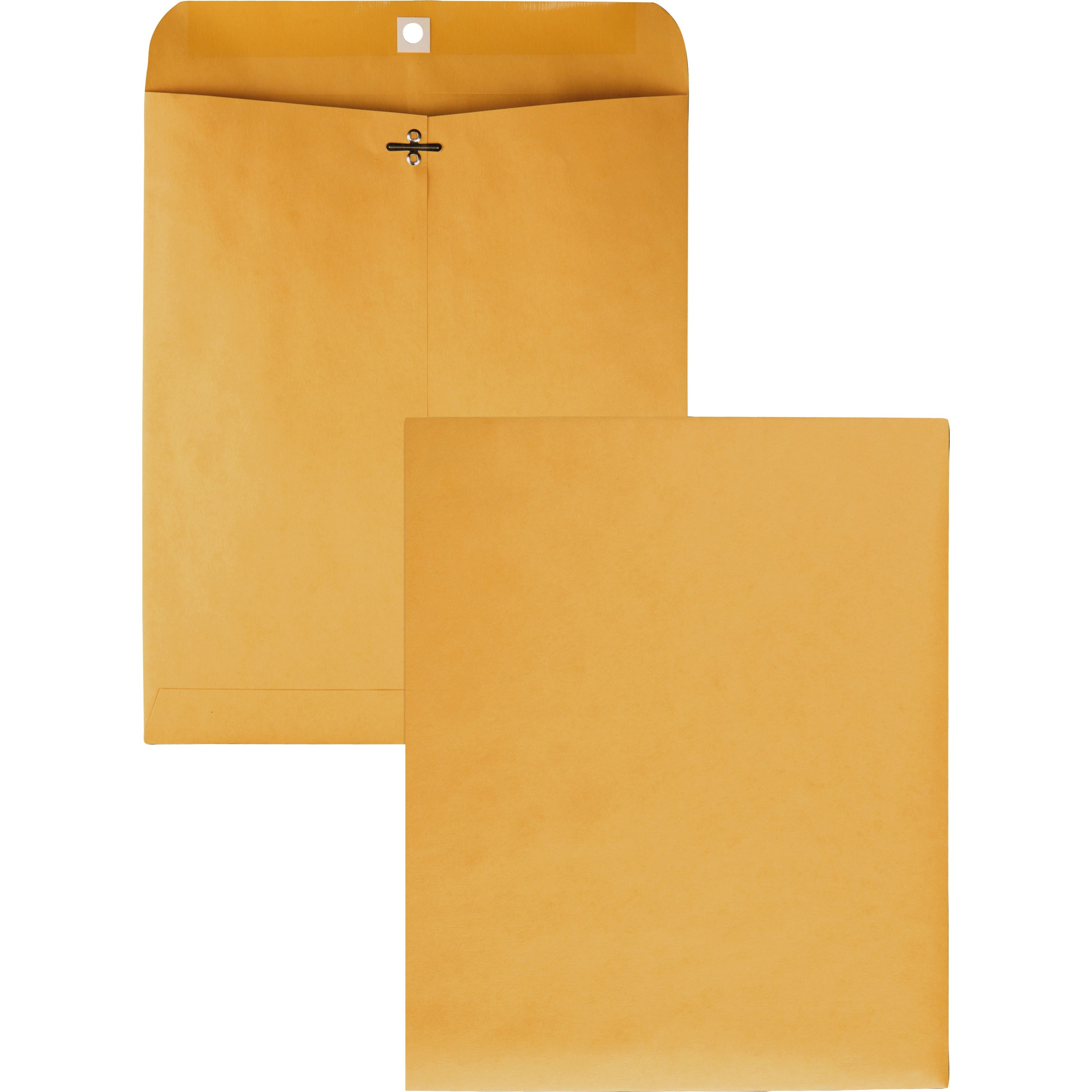 Clasp Envelope, 10 x 12, 28lb, Brown Kraft, 100/Box