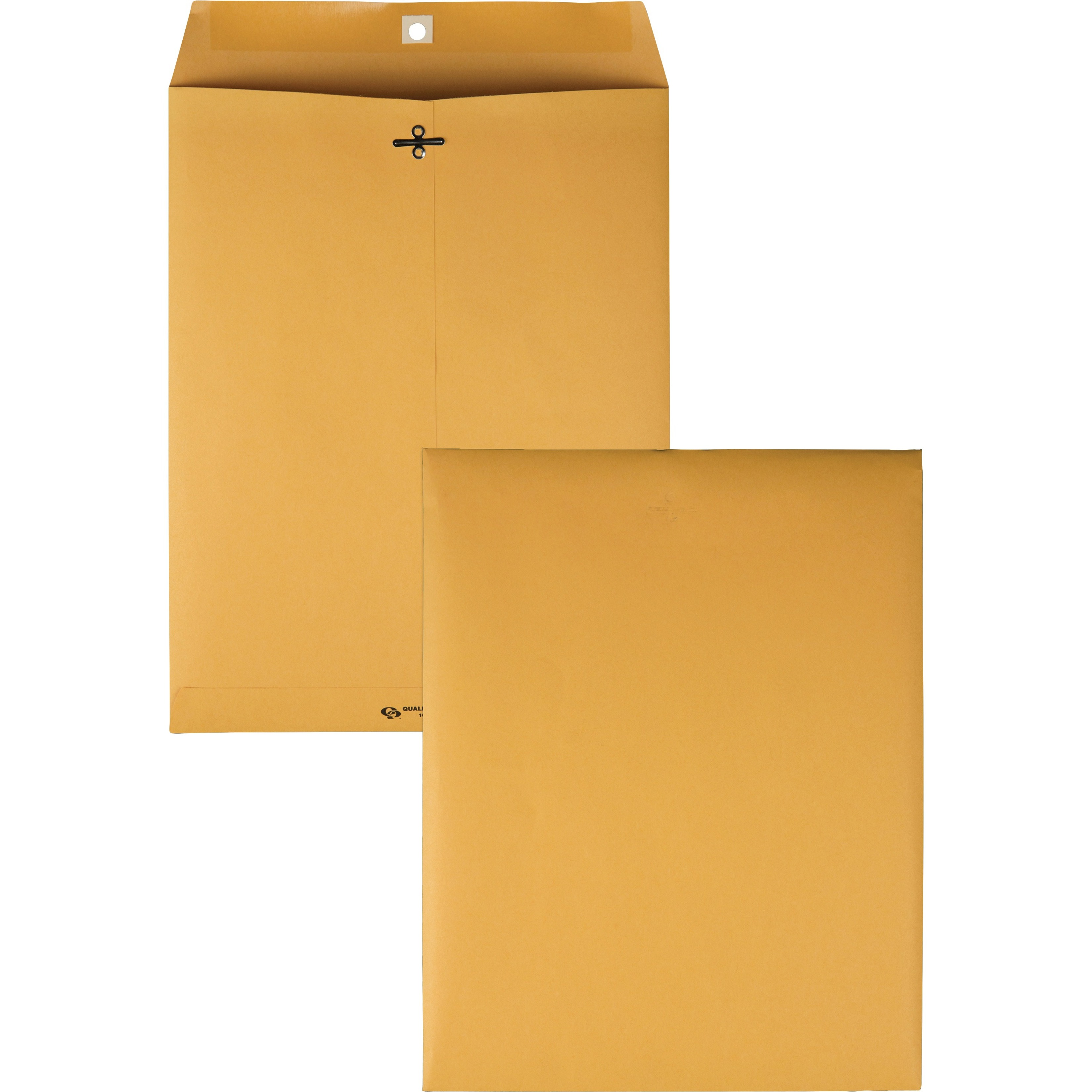 Clasp Envelope, 10 x 13, 28lb, Brown Kraft, 100/Box