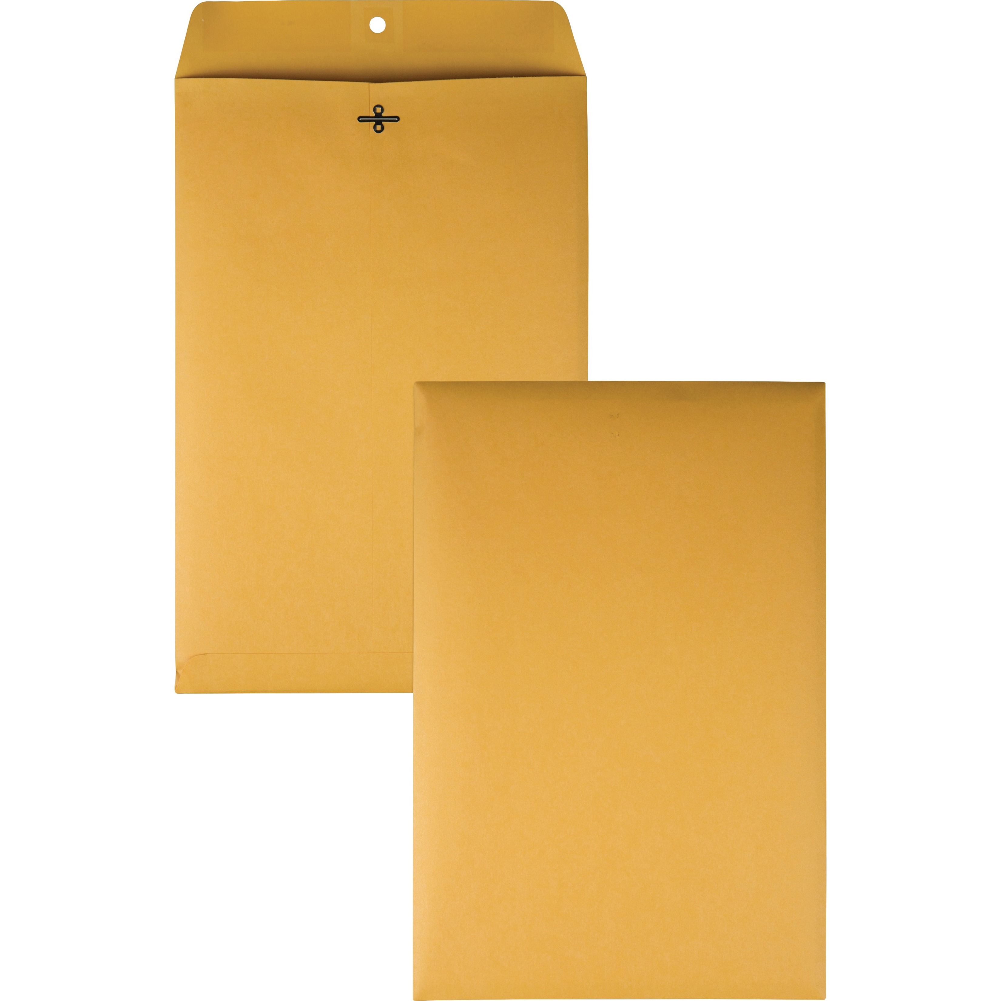 Clasp Envelope, 10 x 15, 28lb, Brown Kraft, 100/Box