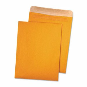 100% Recycled Brown Kraft Redi Seal Envelope, 10 x 13, Brown Kraft, 100/Box