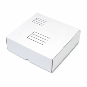 Ring Binder Mailer/Shipping Boxes, 12 x 12 1/4 x 3 7/8, White