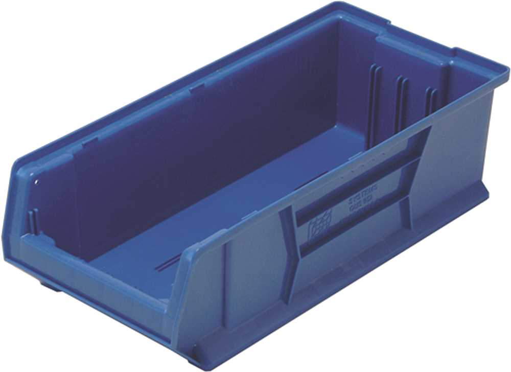 QUANTUM STORAGE SYSTEMS HULK CONTAINER, 23-7/8 IN. X 11 IN. X 7 IN., BLUE
