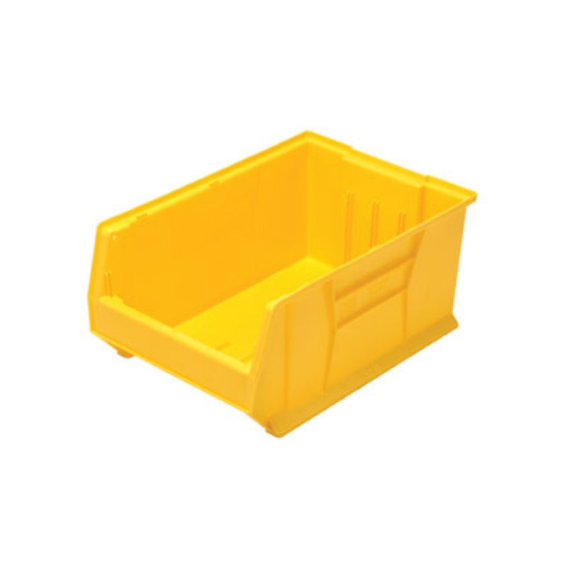 QUANTUM STORAGE SYSTEMS HULK CONTAINER, 23-7/8 IN. X 16-1/2 IN. X 11 IN., YELLOW