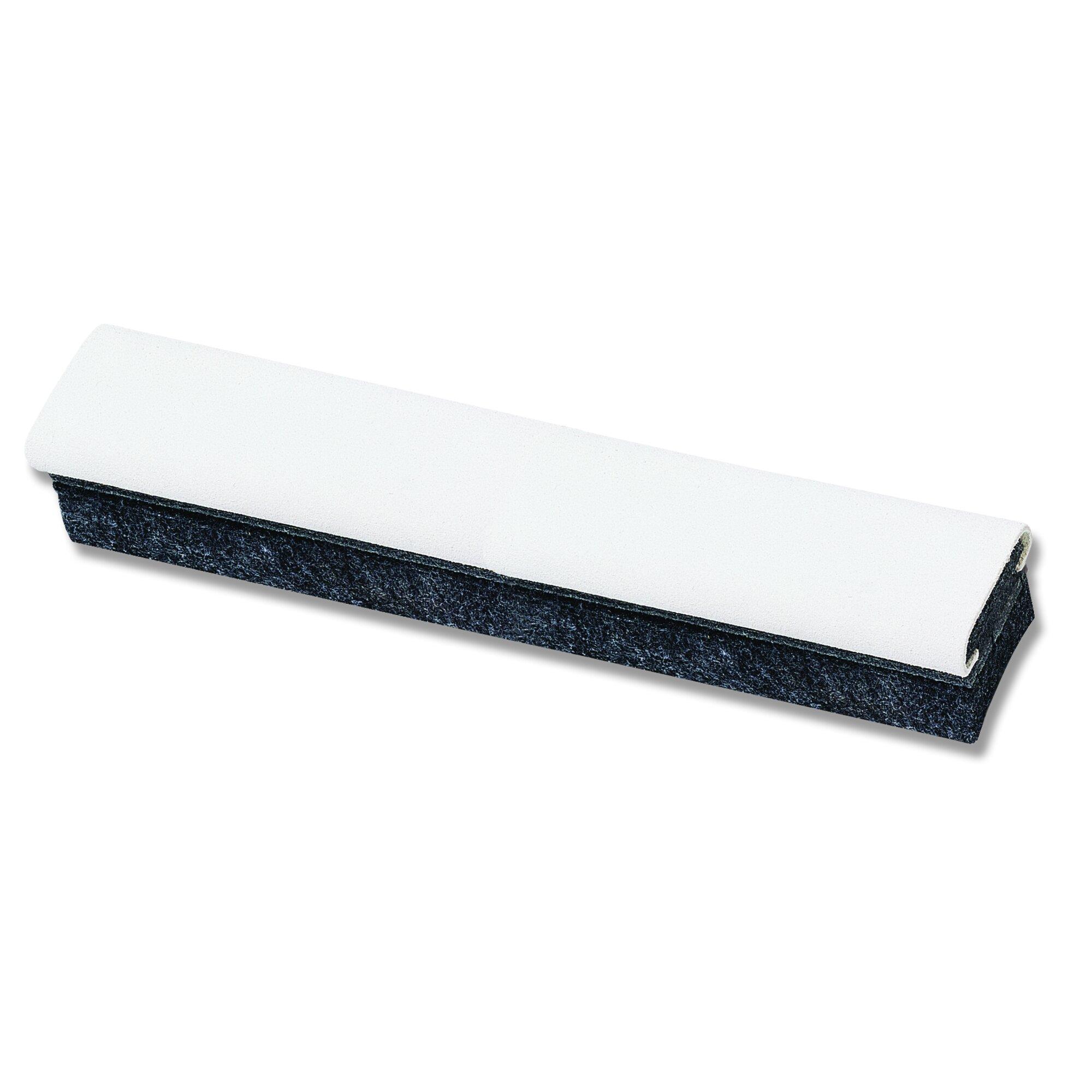 Deluxe Chalkboard Eraser/Cleaner, Felt, 12w x 2d x 1 5/8h