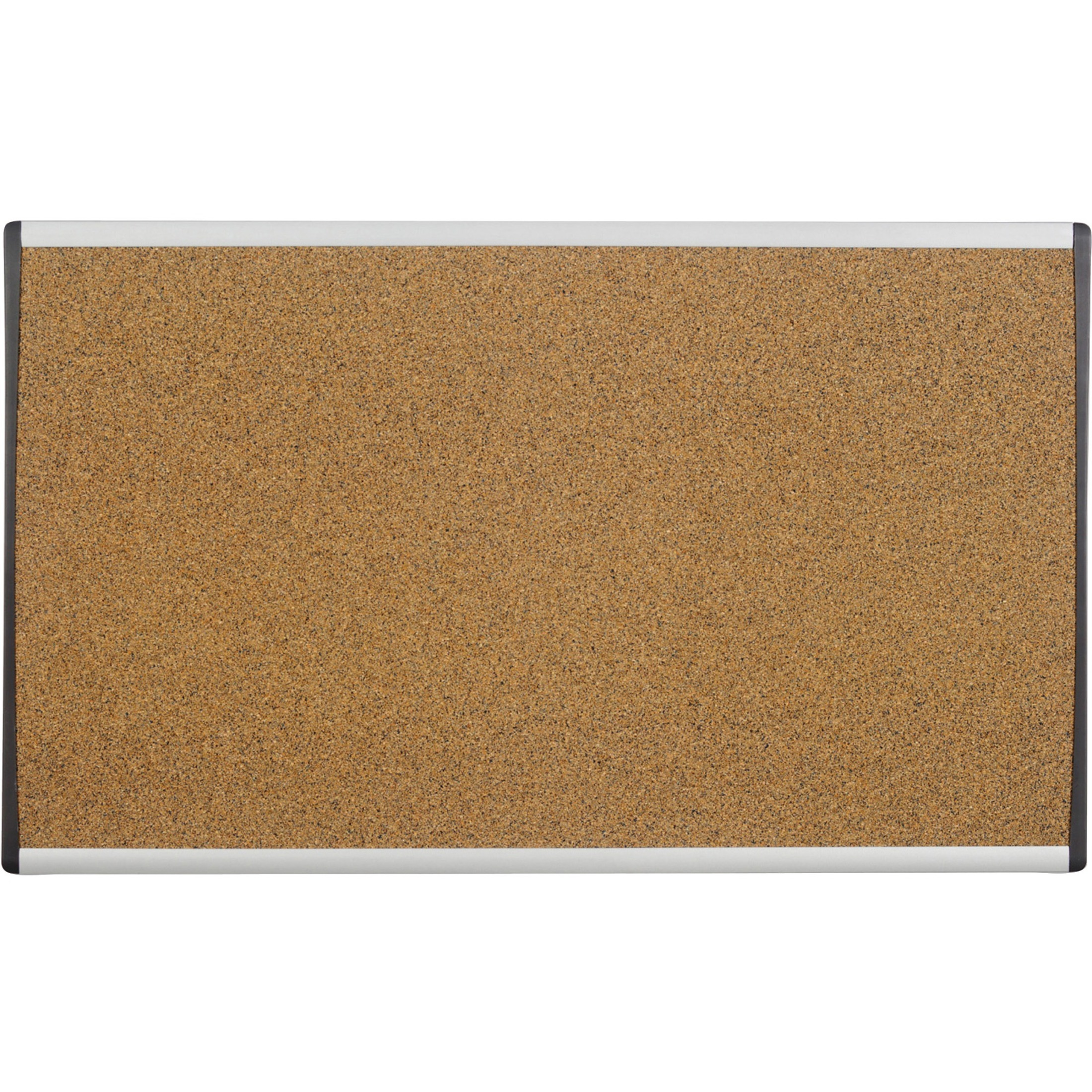 ARC Frame Cork Cubicle Board, 18 x 30, Tan, Aluminum Frame
