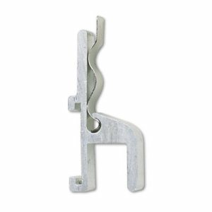 Map Hook with Clip, One Inch, for Map Rail