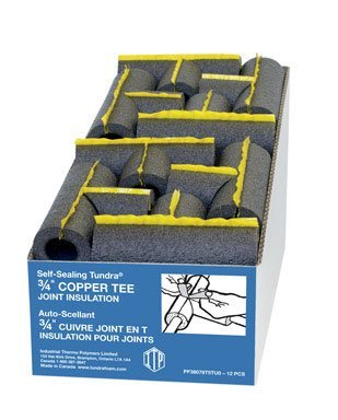 PF38078T5T 3/4 IN. INSULATED TEE