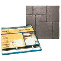 Walkmaker 6921-34 European Building Form, 2 ft L X 2 ft W X 2 in D Block