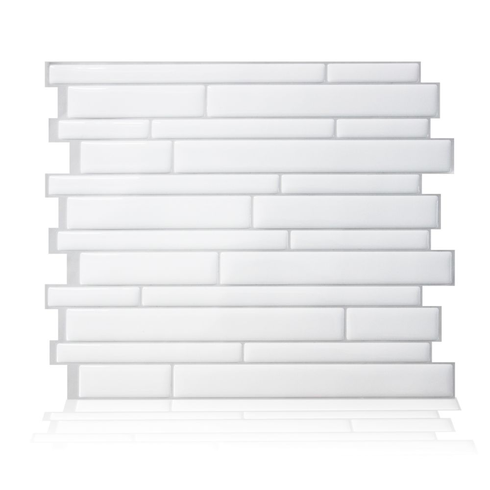 TILE WALL MILANO BLANCO 6PK