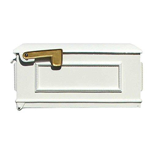 Lewiston Mailbox Only, No Address Plates, White