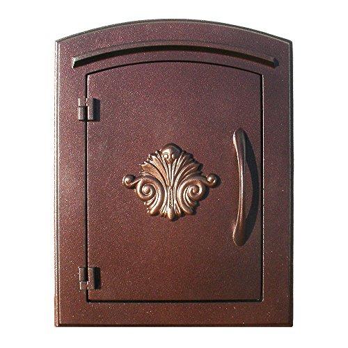Manchester Mailbox, Scroll Door, Antique Copper