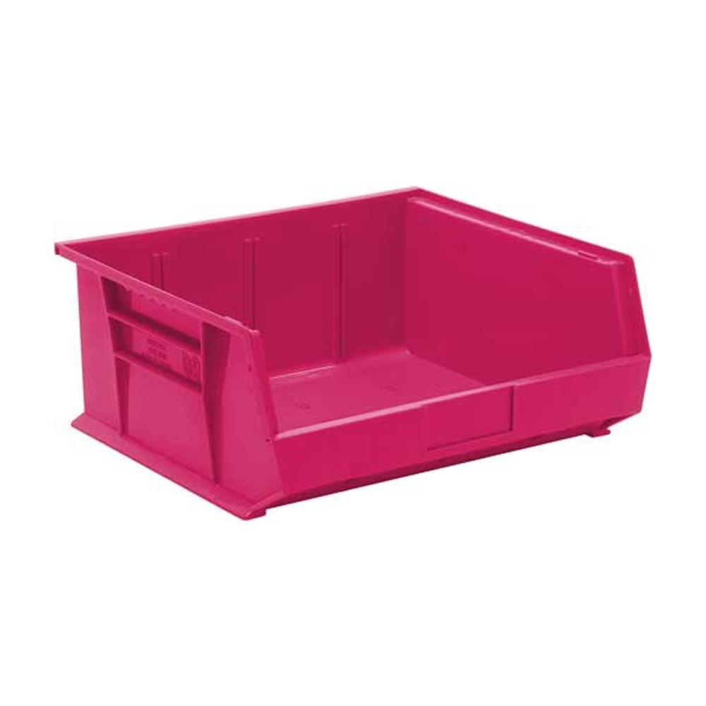 Ultra Stack And Hang Bin Pink - 14-3/4
