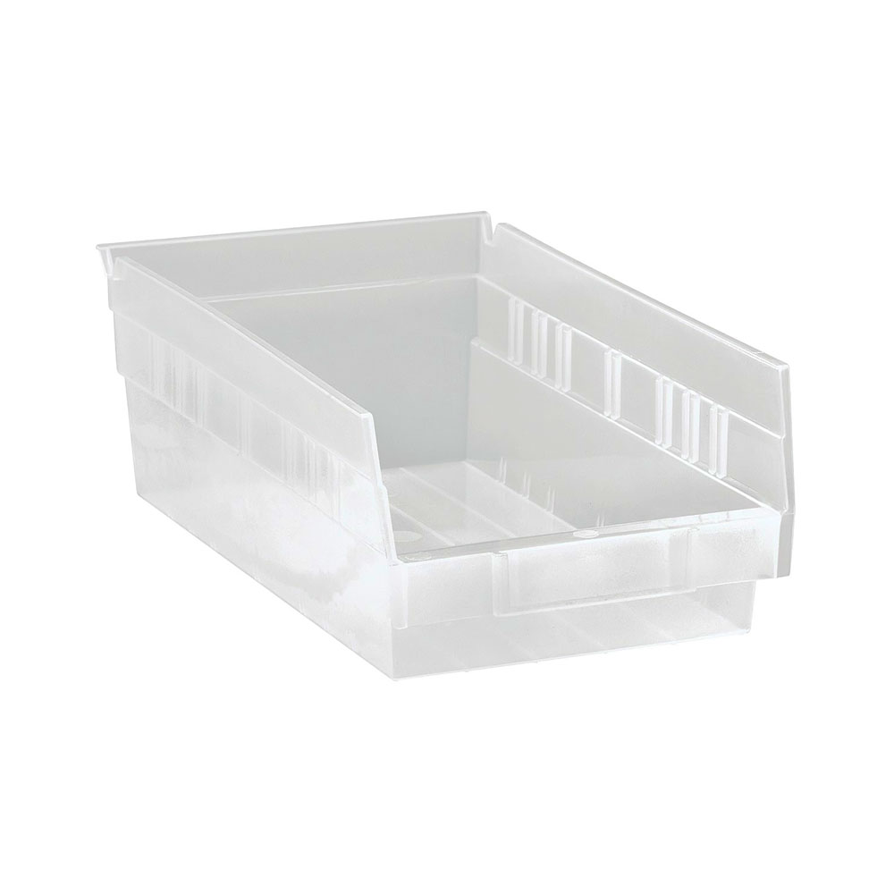 QSB102CL CLEAR-VIEW economy shelf bin - Pack of 30