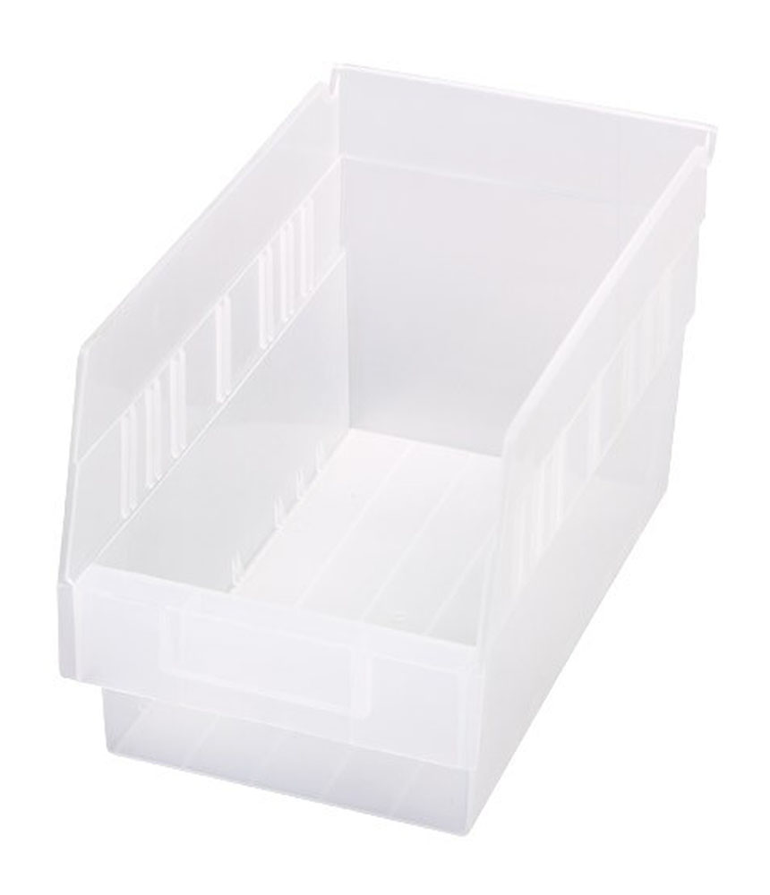"Store-More 6"" Shelf Bin 11-5/8"" X 6-5/8"" X 6"" - Pack of 30"