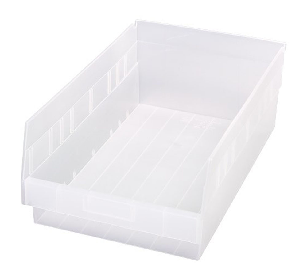 "Store-More 6"" Shelf Bin 17-7/8"" X 11-1/8"" X 6"" - Pack of 8"