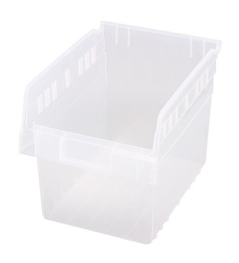 "QSB807CL Store-Max 8"" Shelf Bin - 11-5/8"" X 8-3/8"" X 8"" - Pack of 20"