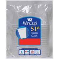 Wincup 951HW Beverage Cup, 8 oz, Foam