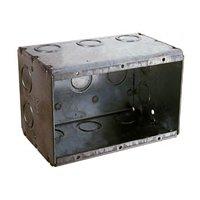 Raco 692 Non-Gangable Old Work Switch Box, 3 Gang, 47.8 cu-in x 3-3/4 in L x 5.594 in W