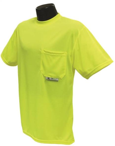 Radians ST11-NPGS-L Short Sleeve T-Shirt, Large Unisex, 100% Wicking Polyester Mesh