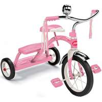TRICYCLE CHILD CLASC PNK STEEL