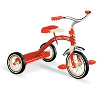 Radio Flyer Classic Tricycle, 2 - 4 Years, 10 in Front, Steel, Red