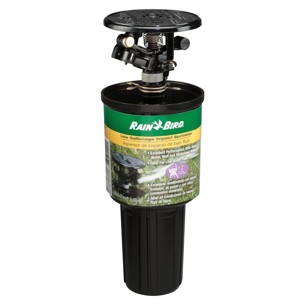 Rainbird 22SA-Q Mini Multiple Stream Rotor Sprinkler, 6 in H, Quarter Circle, 1/2 in FNPT