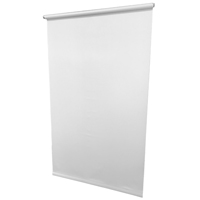 SHADE VNL DRKN WH 4MIL 37X72IN