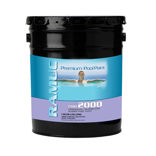 Pro 2000 Chlorinated Rubber Pool Coating - White (5 Gallon/Pail)