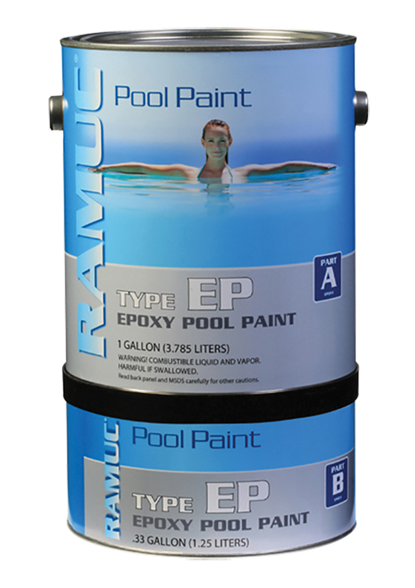Type EP Epoxy Swimming Pool Paint - Vermillion (1 Gallon)