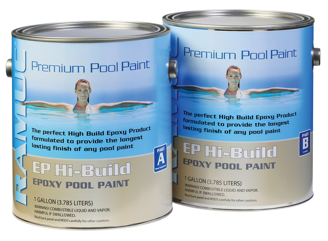 Type EP HiBuild Epoxy Swimming Pool Paint - White (2 Gallon)