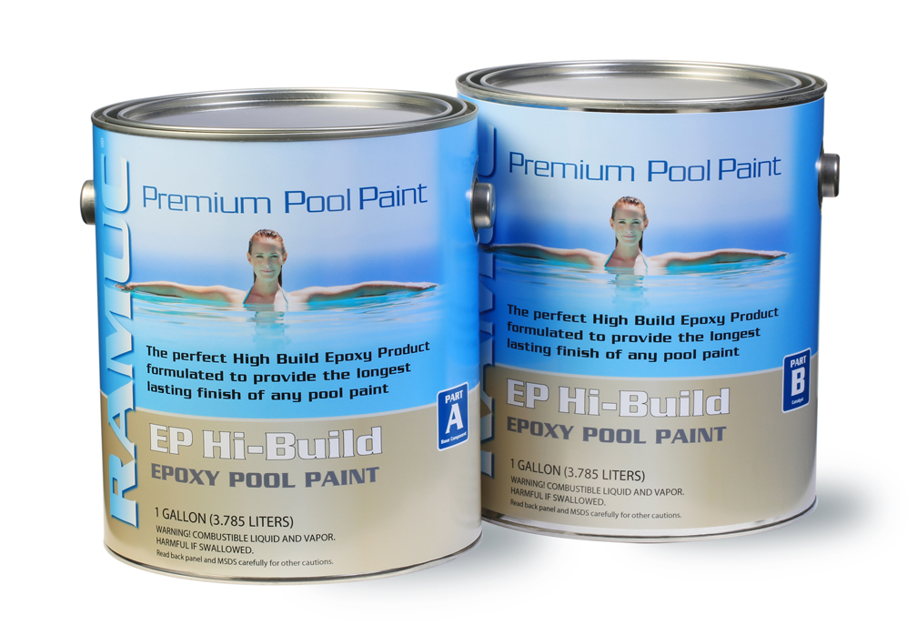 Type EP HiBuild Epoxy Swimming Pool Paint - Beach Beige (2 Gallon)
