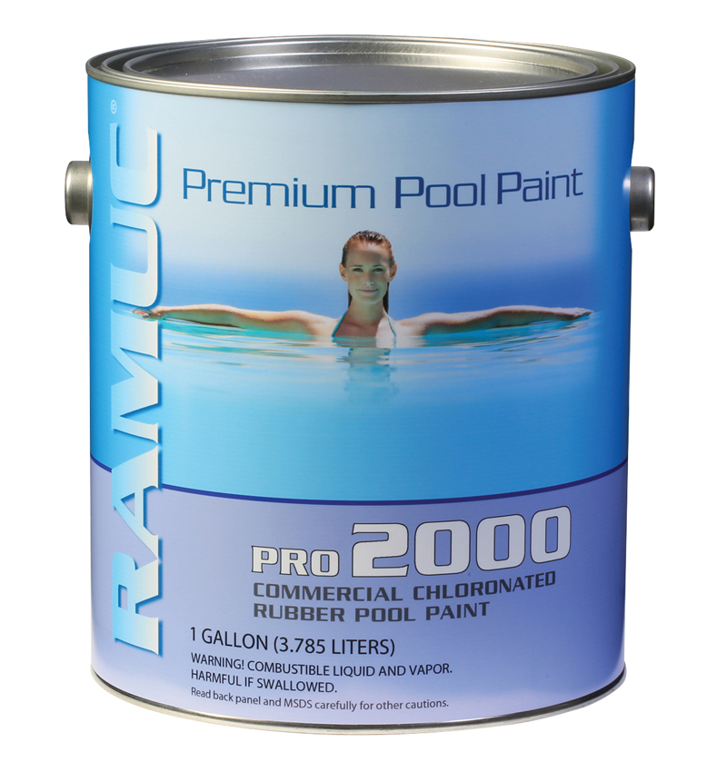 Pro 2000 Chlorinated Rubber Pool Coating - Dawn Blue (1 Gallon)