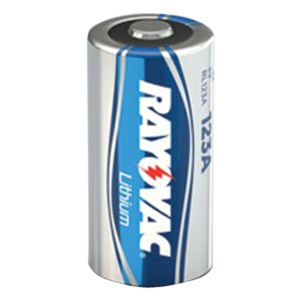 RAYOVAC RL123A-1 3-Volt Lithium 123A Photo Battery (Single)