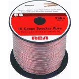 RCA AH16100SR 16-Gauge Speaker Wire (100ft)