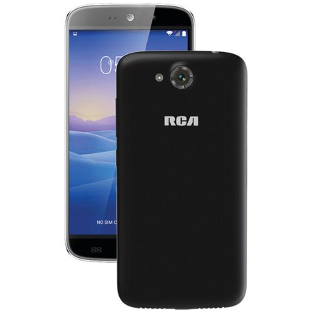 "RCA RLTP5567-BLACK 5.5"" Android Quad-Core Smartphone (Black)"