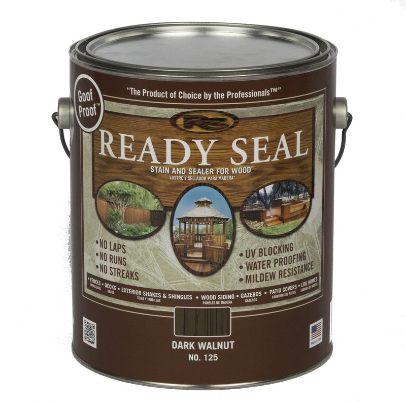 125 1G WALNUT READY SEAL STAIN