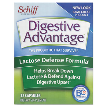 Probiotic Lactose Defense Capsule, 32 Count, 36/Caton