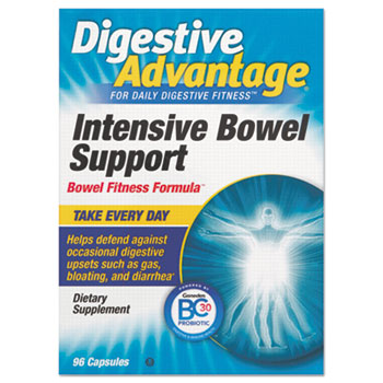 Probiotic Intensive Bowel Support Capsule, 96 Count, 36/Carton