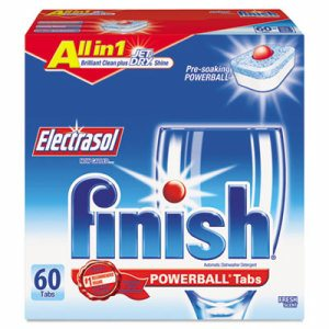 Powerball Dishwasher Tabs, Fresh Scent, 60/Box