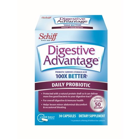 Daily Probiotic Capsule, 30 Count