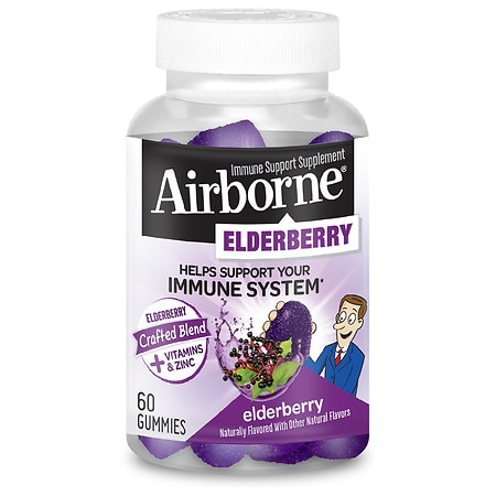 Immune Support Gummies with Elderberry, 60/Bottle