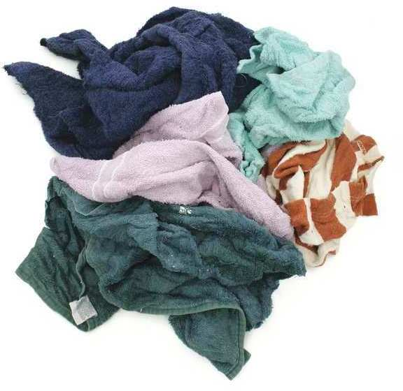 20# POLY BAG COLOR TERRY WIPER