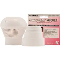 Rectroseal Magic Vent Micro Size Air Admittance Valve With Tape, 1-1/2 in, Female Threaded