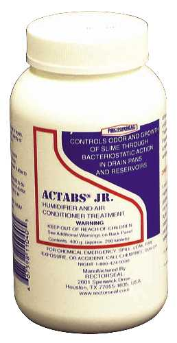 ACTABS� JR AIR CONDITIONING DRAIN PAN TREATMENT, 200 TABLETS